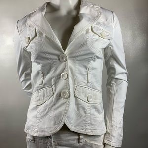 3For$20 H&M White Blazer Size: 36 Euro